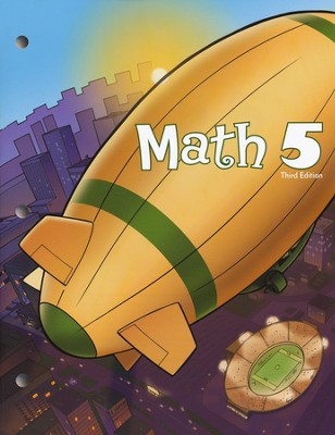 BJU Math 5 Student Worktext (Third Edition)   -