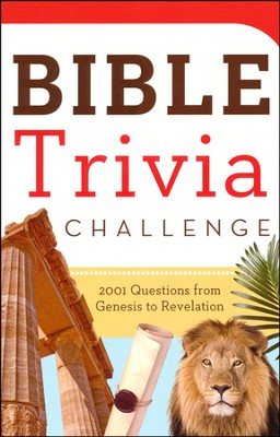 Bible Trivia Challenge: 2001 Questions from Genesis to Revelation - Slightly Imperfect  -