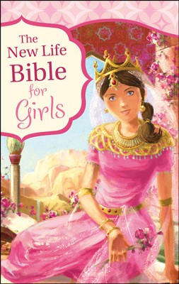 The New Life Bible for Girls, Trade Paper  -