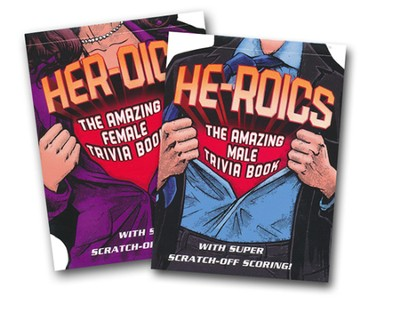 He-Roics: The Amazing Male Trivia Book and Her-Roics:  The Amazing Female Trivia Book  -     By: Donna Maltese