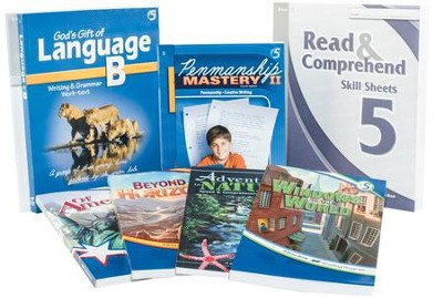 Grade 5 Homeschool Child Language Arts Kit  -