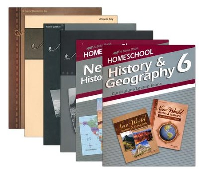 Grade 6 Homeschool Parent History Kit  -