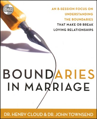 Boundaries in Marriage, Unabridged CD  -     By: Dr. Henry Cloud, Dr. John Townsend