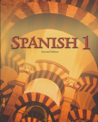 BJU Spanish 1 Student Text (Second Edition, Updated Copyright)    -