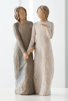 My Sister, My Friend, Willow Tree &#174 Figurine   -     By: Susan Lordi
