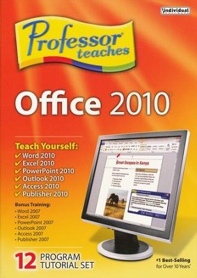 Professor Teaches Office 2010 CD-Rom   -
