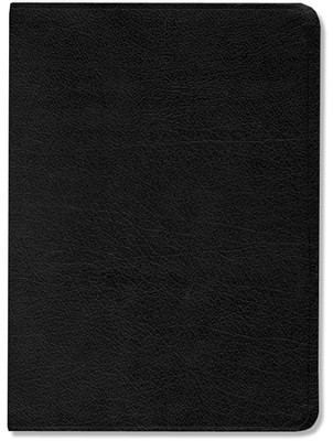 NIV Life Application Study Bible, Large Print, Bonded leather black  - Slightly Imperfect  -