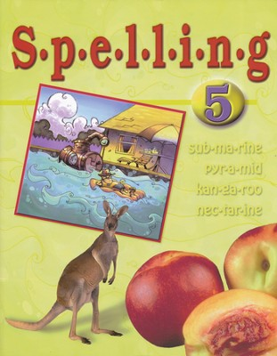 BJU Spelling 5, Student Worktext, (updated copyright)   -