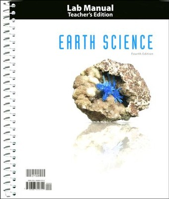 BJU Earth Science Grade 8 Lab Manual Teacher's Edition   (Fourth Edition)  -