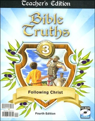 BJU Bible Truths Grade 3 Teacher's Edition with CD-ROM   -