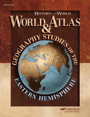 World Atlas & Geography Studies: Eastern Hemisphere   -