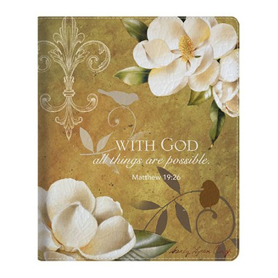 With God, All Things Are Possible iPad Cover  -