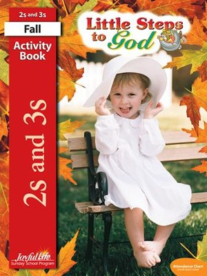 Little Steps to God (ages 2 & 3) Activity Book   -