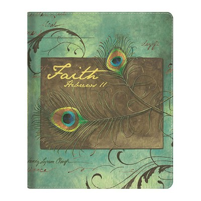 Faith, Peacock Feathers iPad Cover  -