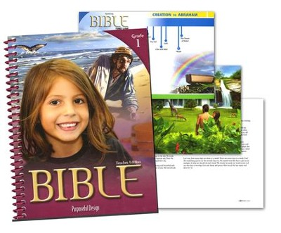 ACSI Bible Grade 1 Teacher's Edition (Revised)   -