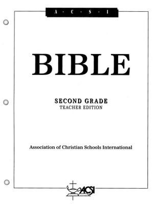 ACSI Bible, Grade 2, Teacher's Edition   -