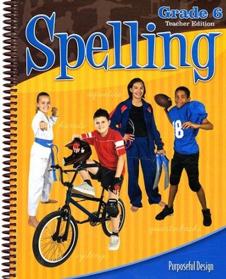ACSI Spelling Grade 6 Teacher's Edition, Revised   -