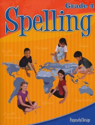 ACSI Spelling Grade 4 Student Edition, Revised   -