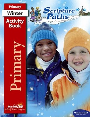 Scripture Paths Primary (Grades 1-2) Activity Book   -