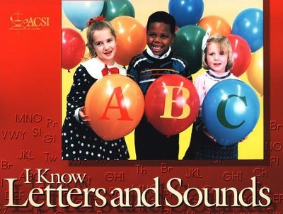 I Know Letters and Sounds, Student Edition   -