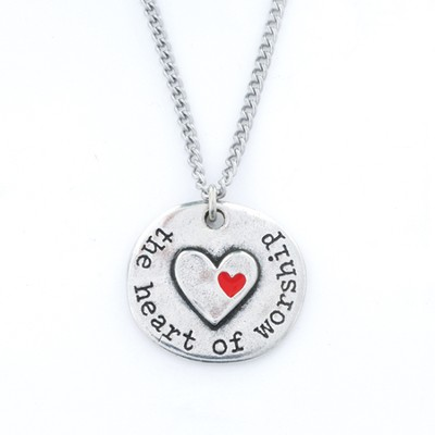 Heart of Worship Pendant  -
