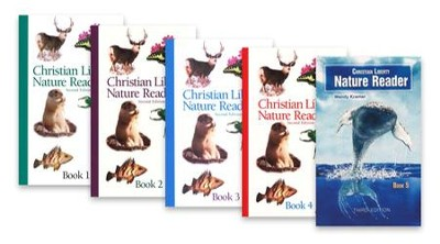 Christian Liberty Nature Reader Pack, 5 Volumes Grades 1-5   -