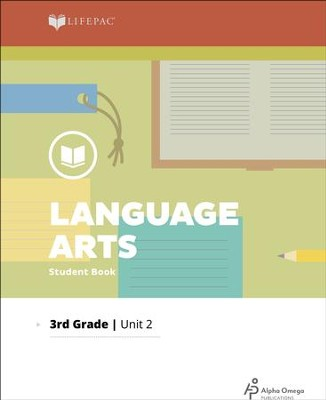 Lifepac Language Arts Grade 3 Unit 2: Building Words and Sentences   -