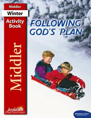 Following God's Plan Middler (Grades 3-4) Activity Book   -