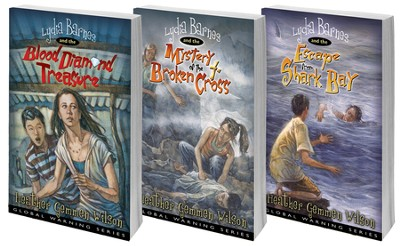 Lydia Barnes, Global Warning Series, Volumes 1-3  -     By: Heather Gemmen Wilson