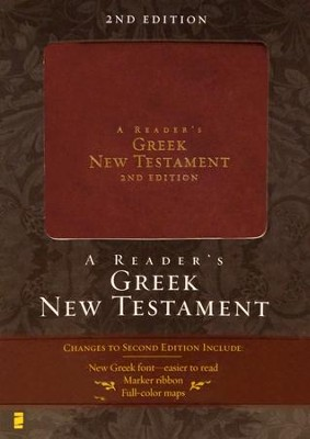 A Reader's Greek New Testament, 2nd edition - Italian Duo-Tone, Burgundy  -     By: Richard J. Goodrich, Albert L. Lukaszewski