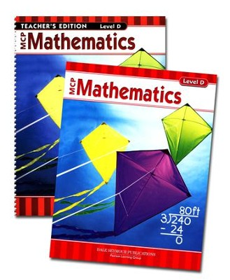 MCP Mathematics Level D, Grade 4, 2005 Ed., Homeschool Kit   -