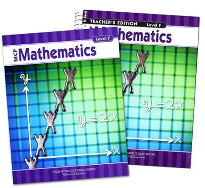 MCP Mathematics Level F, Grade 6, 2005 Ed., Homeschool Kit   -