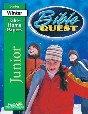 Bible Quest Junior (Grades 5-6) Take-Home Papers   -