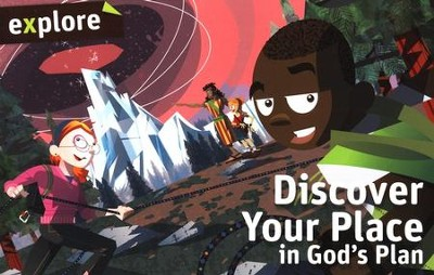 Discover Your Place in God's Plan (Explore Student Book 2)  -