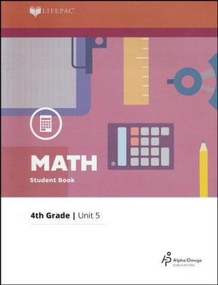 Lifepac Math Grade 4 Unit 5: Division, Measurements   -