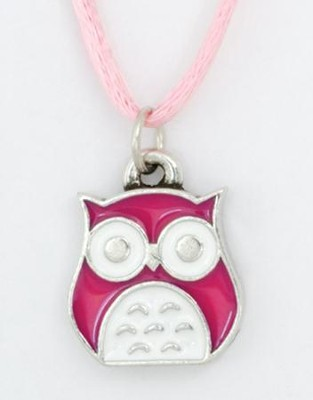 Be Wise Pendant, Owl  -
