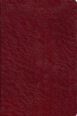 Old Scofield Study Bible Classic Edition, KJV, Genuine Leather burgundy  -