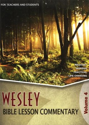 Wesley Bible Lesson Commentary 2011-2012   -