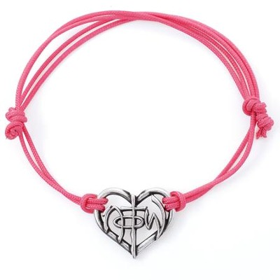 Cut Out Heart, NOTW, Cord Bracelet  -