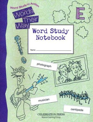 Words Their Way: Word Study in Action Grade 5 Student Workbook  -