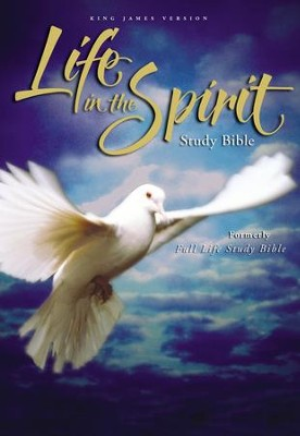 KJV Life in the Spirit Study Bible, Hardcover (Previously titled The Full Life Study Bible) - Slightly Imperfect  -
