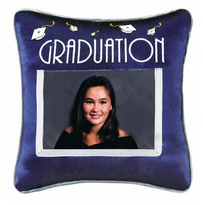 Graduation Photo Pillow  -