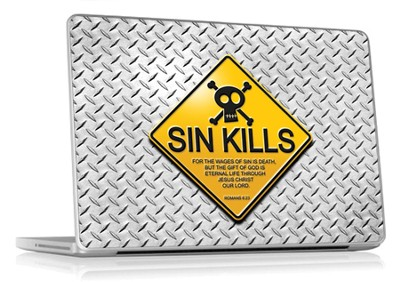 Sin Kills Laptop Skin  -