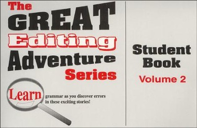 Great Editing Adventure Student, Volume 2   -