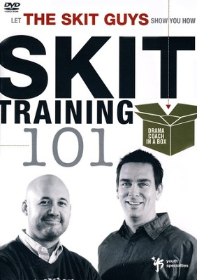 Skit Training 101: Drama Coach In A Box, DVD-ROM  -     By: The Skit Guys