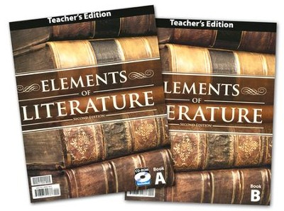 BJU Elements of Literature Grade 10 Teacher's Edition with CD-ROM (Second Edition)  -