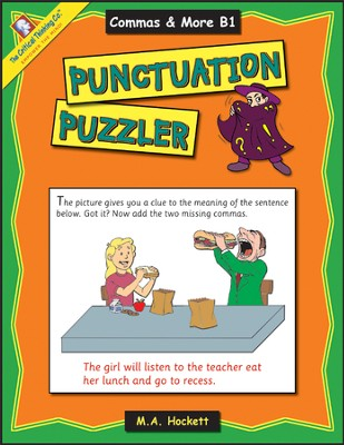 Punctuation Puzzlers Book B1   -