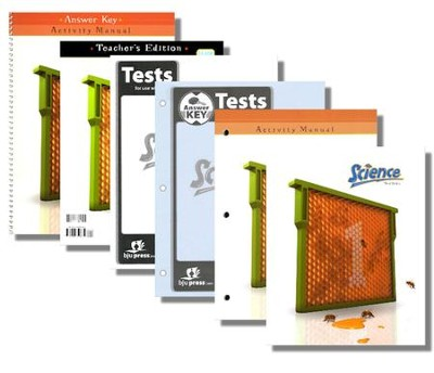 BJU Press Science Grade 1 Homeschool Kit, 3rd Edition  -
