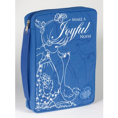 Precious Moments, Make A Joyful Noise Bible Cover  -