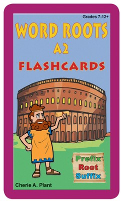 Word Roots A2, Flashcards and Dictionary   -